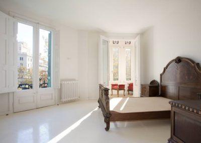 Vivienda Les Corts - Dormitorio Principal