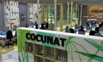 COCUNAT. Unas oficinas 100% naturales