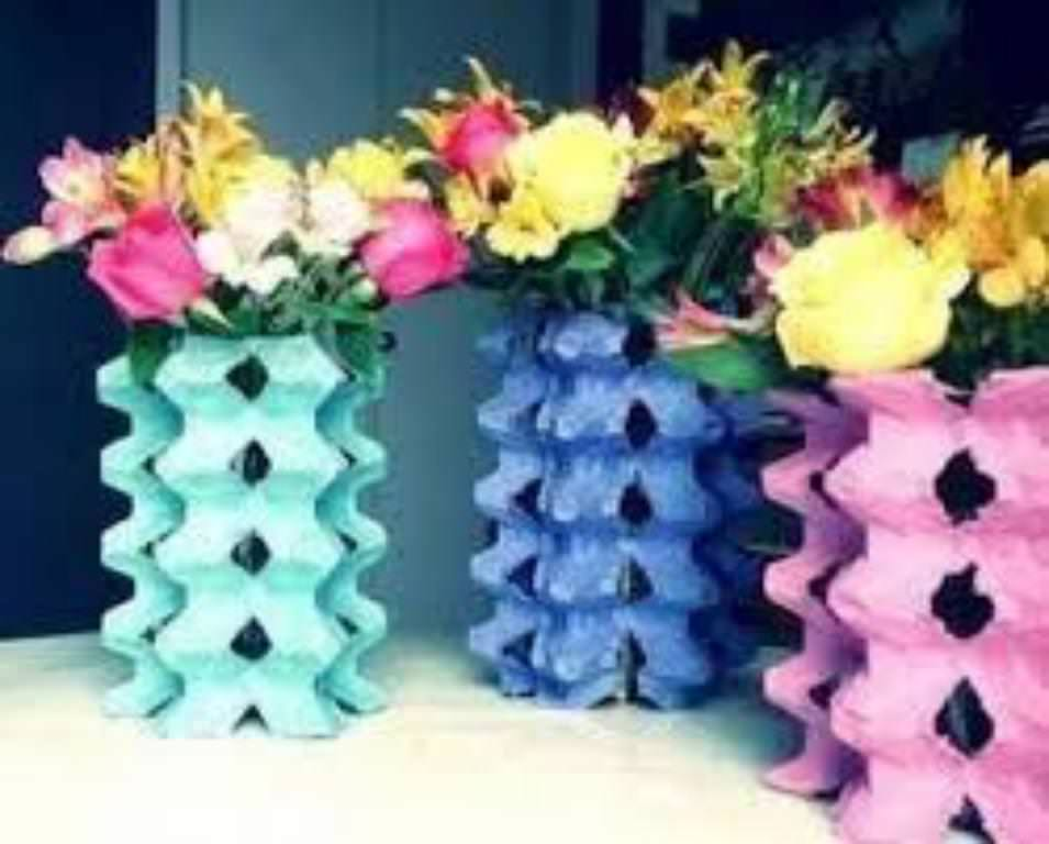 floreros creativos