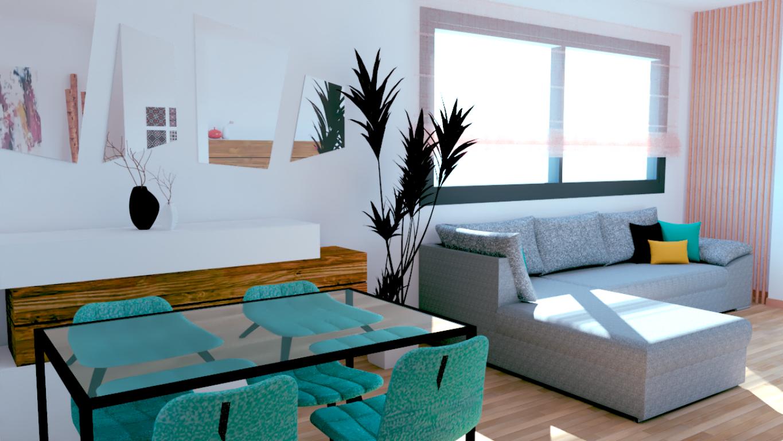 PROYECTO EN 3D LIVINGROOM